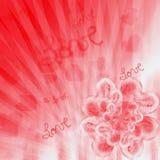 Flor dos corações Fotos de Stock Royalty Free