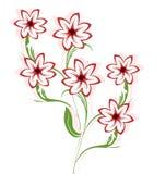 Flor dos desenhos animados Foto de Stock Royalty Free