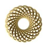 Flor dourada Fotografia de Stock
