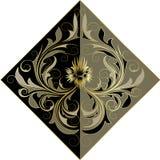 Flor dourada Imagem de Stock Royalty Free