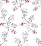 Flor e baga Imagem de Stock