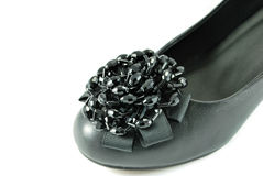 Flor elegante de un zapato Imagen de archivo