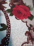 Flor en cama foto de archivo libre de regalías
