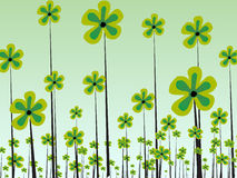 flor en extracto   Ilustración del Vector