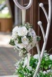 Flor en la recepción nupcial Imagen de archivo