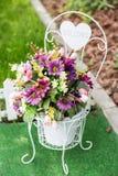 Flor en la recepción nupcial Fotos de archivo libres de regalías
