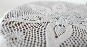 Flor en tapetito del cordón Fotos de archivo