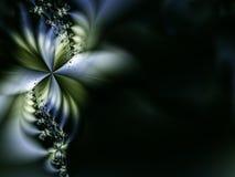 Flor escura Ilustração Stock