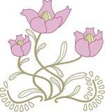 Flor estilizada libre illustration