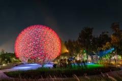 A flor famosa da m?quina do mundo Flora Exposition de Taichung foto de stock royalty free