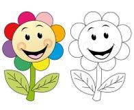 Flor feliz Imagenes de archivo