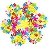 Flor floral ilustração do vetor
