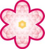 Flor floreciente de la vida Imágenes de archivo libres de regalías