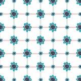 Flor & fundo modelado manta Imagem de Stock Royalty Free