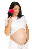 Flor futura de la explotación agrícola de la madre de la belleza Imagen de archivo