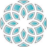 Flor geométrica ilustración del vector