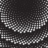 Flor geométrica Vector Dot Ornament Template Fotografía de archivo libre de regalías