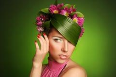 Flor girl Stock Photography
