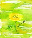 Flor hecha a mano. Fotografía de archivo libre de regalías