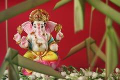 Flor hindú del jazmín de Ganesha de dios Fotos de archivo libres de regalías