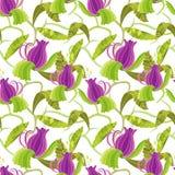 Flor lilás Imagens de Stock