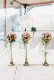 Flor luxuoso das flores na tabela Foto de Stock