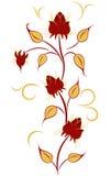 Flor mágica stock de ilustración