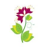 Flor marrón libre illustration