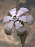 Flor metálica Fotografía de archivo