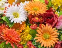 flor mezclada falsa Foto de archivo libre de regalías