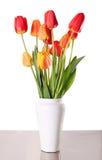 Flor na porcelana Fotografia de Stock
