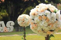 Flor no dia do casamento Imagem de Stock Royalty Free