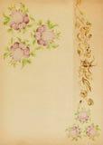 Flor no estilo popular ilustração do vetor