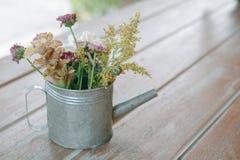 Flor no tom do vintage para o fundo Imagem de Stock
