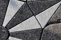 Flor textured tło mozaikę od bloku Obraz Royalty Free