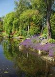 Flor og Fjaere. A beautiful summer garden on an island near Stavanger, Norway royalty free stock photography