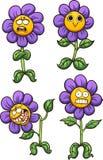 Flor púrpura stock de ilustración
