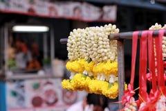 Flor para el Buda Foto de archivo libre de regalías