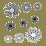 Flor para la decoración stock de ilustración