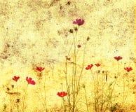 Flor pasada de moda ilustración del vector