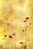 Flor pasada de moda libre illustration