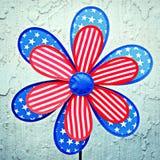 Flor patriótica fotos de archivo libres de regalías
