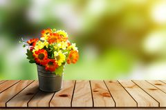 Flor plástica Foto de archivo