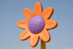 Flor plástica Imágenes de archivo libres de regalías