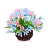 Flor plástica para a decoração foto de stock royalty free