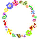 flor-quadro Foto de Stock Royalty Free