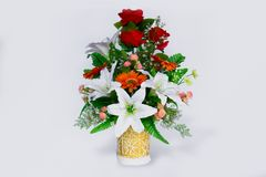 Flor, ramalhete, vaso, grupo de flores, Rosa - flor fotos de stock royalty free