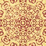 Flor redonda ornamental del cordón de la alheña Fotos de archivo libres de regalías