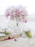 Flor rosado de la manzana Foto de archivo libre de regalías