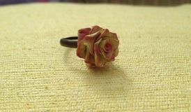 Flor Rose Ring Imagens de Stock